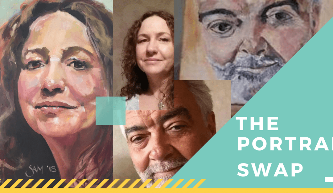 The Portrait Swap Challenge