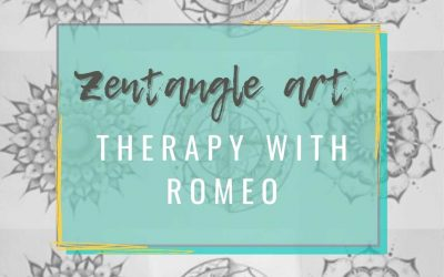 Zentangle Art Therapy with Romeo