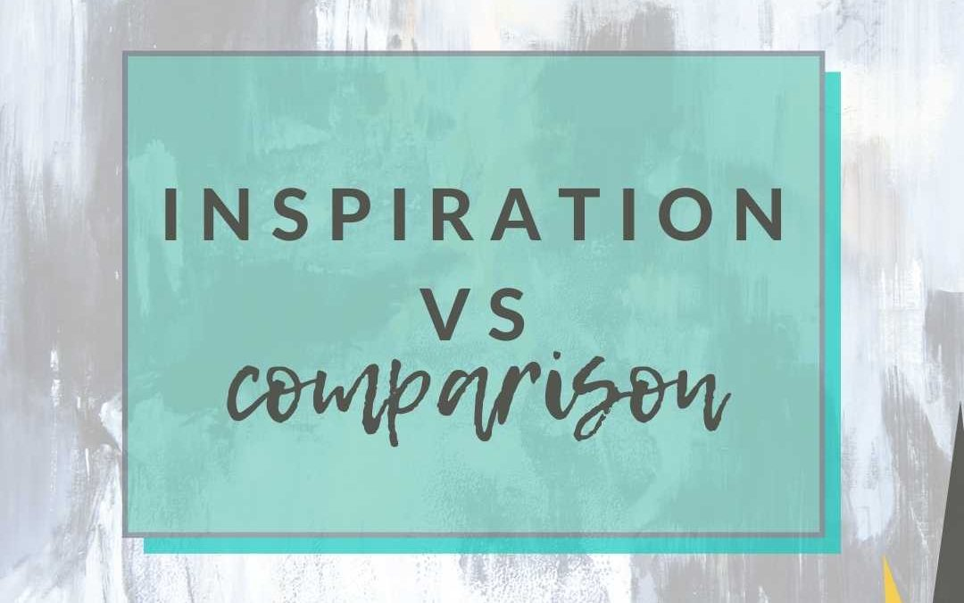 Finding Inspiration Versus Comparison