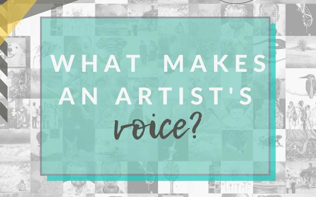 What Makes An Artist's Voice?