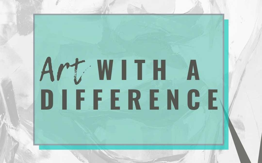 Creating art with a difference